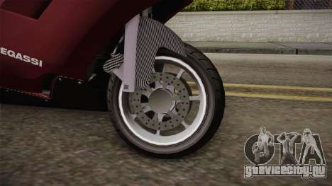 EFLC TLaD Pegassi Bati 801 v2 для GTA San Andreas вид сзади