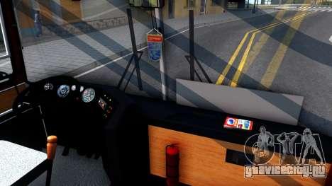 Икарус 250.89 для GTA San Andreas вид изнутри