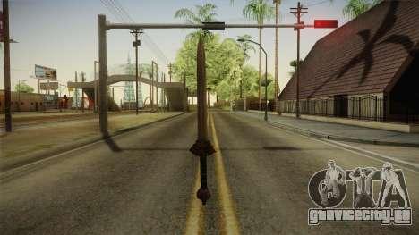 Injustice: Gods Among Us - Wonder Woman Sword для GTA San Andreas второй скриншот