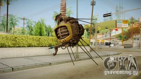 Fallout New Vegas DLC Lonesome Road - ED-E v1 для GTA San Andreas