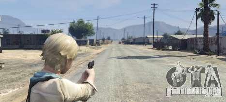 Sherry Birkin Resident Evil 6 для GTA 5 четвертый скриншот
