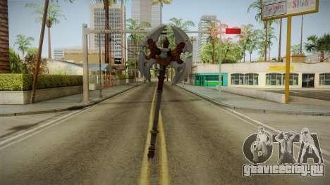 Injustice: Gods Among Us - Ares Axe для GTA San Andreas третий скриншот