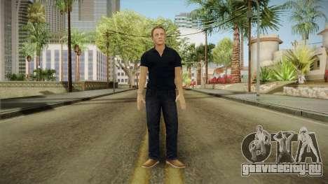 007 Legends Craig First Outfit для GTA San Andreas второй скриншот