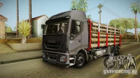 Iveco Stralis Hi-Way 560 E6 6x2 Timber v3.0 для GTA San Andreas вид справа