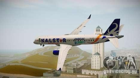 E-195 KalStar Aviation для GTA San Andreas вид слева