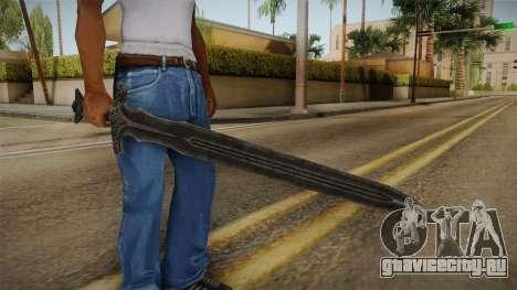 The Elder Scrolls V: Skyrim - Steel Sword для GTA San Andreas