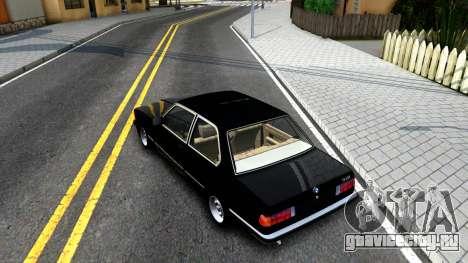 BMW 316 E21 для GTA San Andreas вид сзади