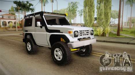 Toyota Land Cruiser Machito для GTA San Andreas