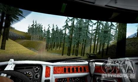 Kenworth T2000 Off Road для GTA San Andreas вид сзади