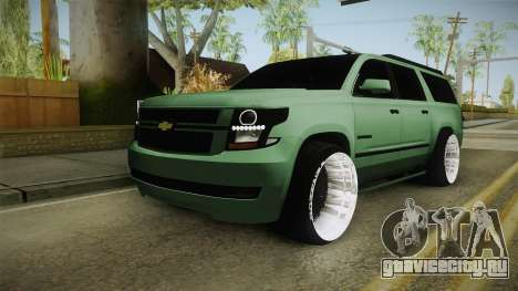 Chevrolet Tahoe GT Stance Bass Booster для GTA San Andreas
