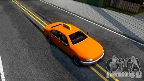 Kuruma GTA 3 Taxi для GTA San Andreas вид справа