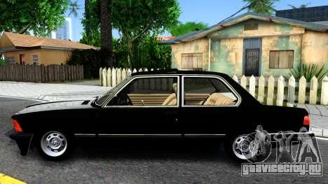 BMW 316 E21 для GTA San Andreas вид слева