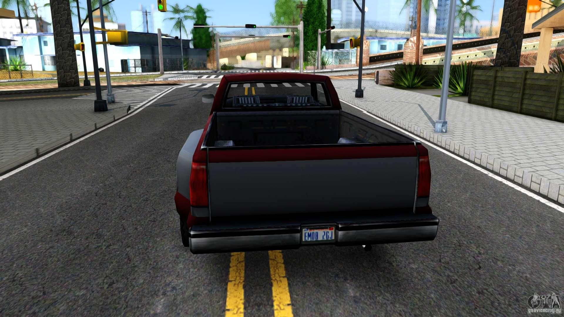 Chevrolet Silverado Sa Style Dlya Gta San Andreas