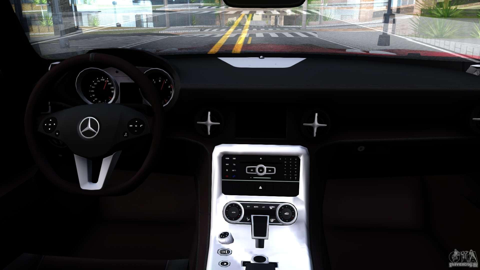 Mercedes-Benz SLS AMG Space для GTA San Andreas