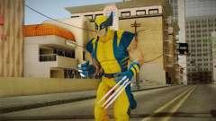 Marvel Heroes - Wolverine Modern UV для GTA San Andreas