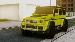 Mercedes-Benz G63 4x4 для GTA San Andreas