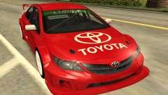 Toyota Corolla красный для GTA San Andreas