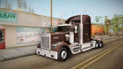 Kenworth W900 ATS 6x2 Middit Cab Normal для GTA San Andreas