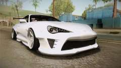 Toyota Supra 8PraLift Hachi NieR Automata 2B для GTA San Andreas