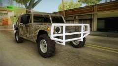 New Patriot Hummer для GTA San Andreas