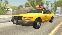 GTA 4 Taxi Car для GTA San Andreas
