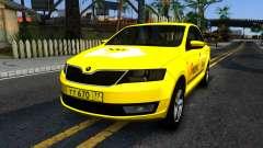 "Skoda Rapid ""Yandex Taxi"" для GTA San Andreas"