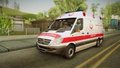 Mercedes-Benz Sprinter Turkish Ambulance для GTA San Andreas