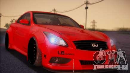 Infiniti G37 Coupe для GTA San Andreas