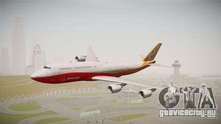 Boeing 747-8I Sunrise Livery для GTA San Andreas