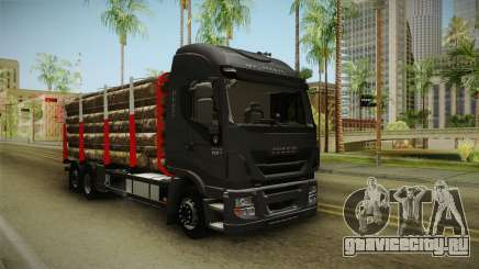 Iveco Stralis Hi-Way 560 E6 6x2 Timber v3.0 для GTA San Andreas