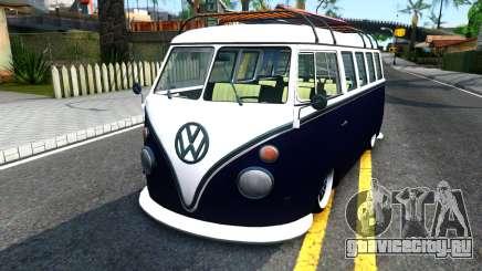 Volkswagen Transporter T1 Stance V2 для GTA San Andreas