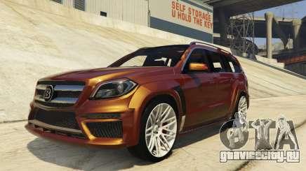 Brabus B63S Widestar для GTA 5