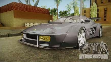 Ferrari 512 TR Widebody для GTA San Andreas