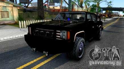 Tuned FBI Rancher для GTA San Andreas