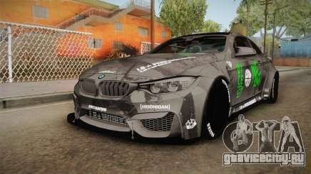 BMW M4 LB Walk Team-DiCE для GTA San Andreas