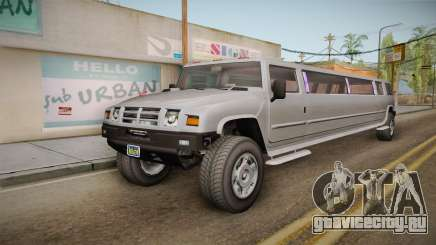 GTA 5 Mammoth Patriot Limo IVF для GTA San Andreas