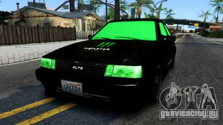 GTA 5 Karin Futo - Monster Energy для GTA San Andreas