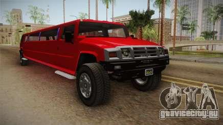 GTA 5 Mammoth Patriot Limo для GTA San Andreas