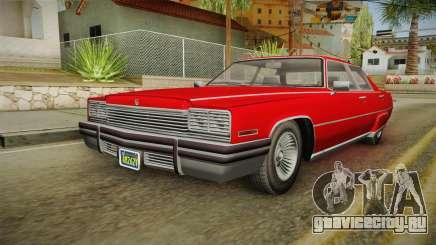 GTA 5 Albany Manana 4-doors для GTA San Andreas