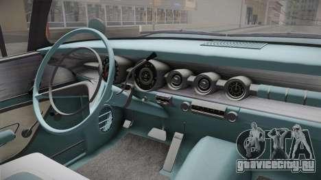 Pontiac Bonneville Hardtop 1958 IVF для GTA San Andreas вид изнутри