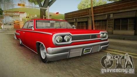 GTA 5 Declasse Voodoo 4-door для GTA San Andreas