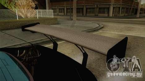 GTA 5 Bravado Banshee Supercop для GTA San Andreas вид изнутри