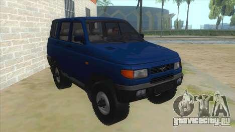 УАЗ 3160 для GTA San Andreas вид сзади