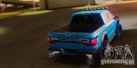 Ford F-150 Raptor LP Cars Tuning для GTA San Andreas вид слева