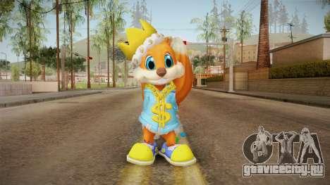 Conker the King для GTA San Andreas