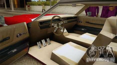 Driver: PL - Fairview для GTA San Andreas вид справа