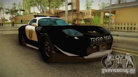 GTA 5 Bravado Banshee Supercop для GTA San Andreas вид справа