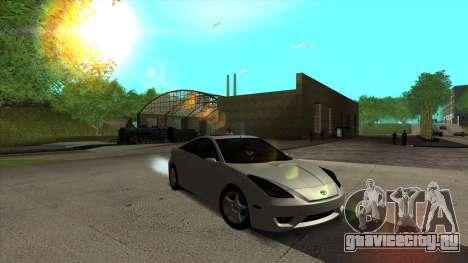 Toyota Celica Tunable для GTA San Andreas вид справа
