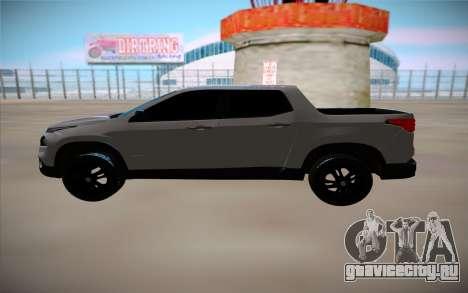 Fiat Toro для GTA San Andreas вид слева