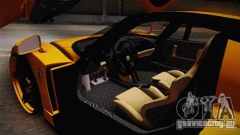 Ferrari Enzo Novitec Rosso для GTA San Andreas вид сбоку